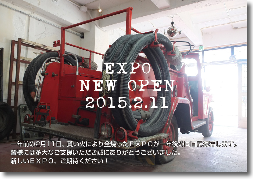EXPO NEW OPEN 2015.2.11
